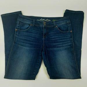 Inc Denim Jeans Size 8 Straight Leg Regular Fit
